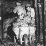 South Devon ball clay mine 1950's