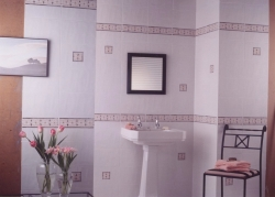 Ball clay in tiles and sanitaryware