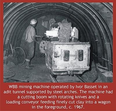 Mining machine 1967