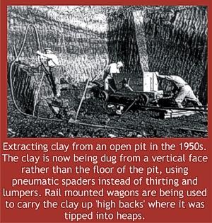 open pit 1950s