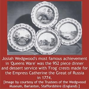 Queen's Ware by Josiah Wedgwood