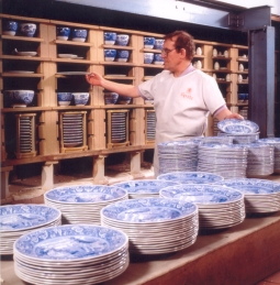 Fired tableware