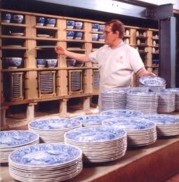 Fired tableware