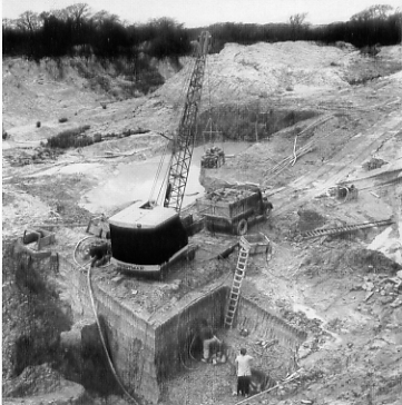 Pike Fayle opencast extraction in Dorset