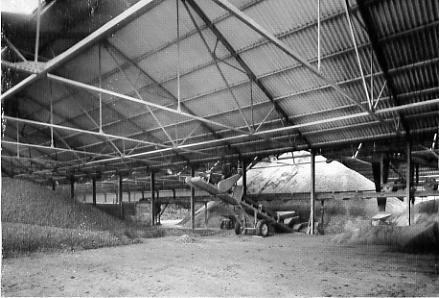 Pike Fayle storage shed