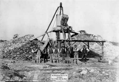North Devon Clay - inclined shaft c1920