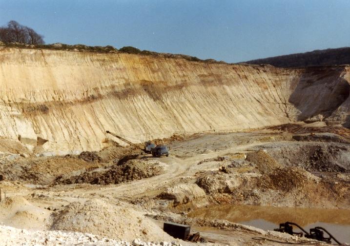 Povington Pit - May 1982