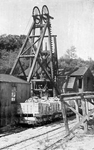 Cotness shaft mine c1950