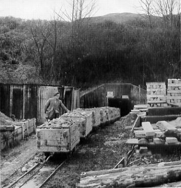 Creech Barrow Adit Mine c1956