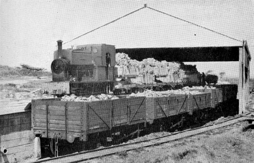 Dorst ball clays - narrow gauge to BR wagons