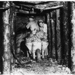 Undergound mine, 1950s