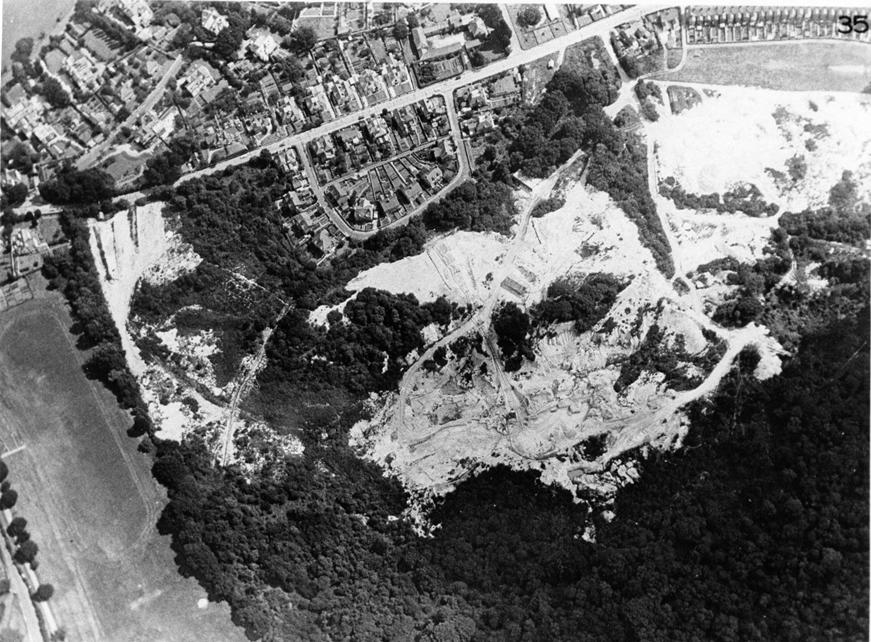 Decoy - aerial view 1959
