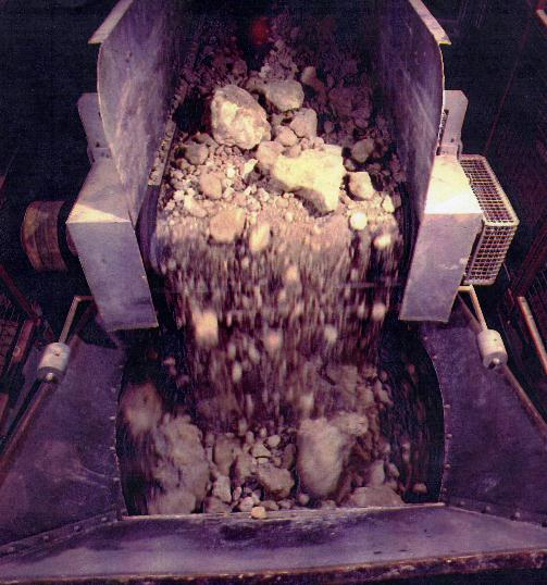 lump-clay-into-shredder