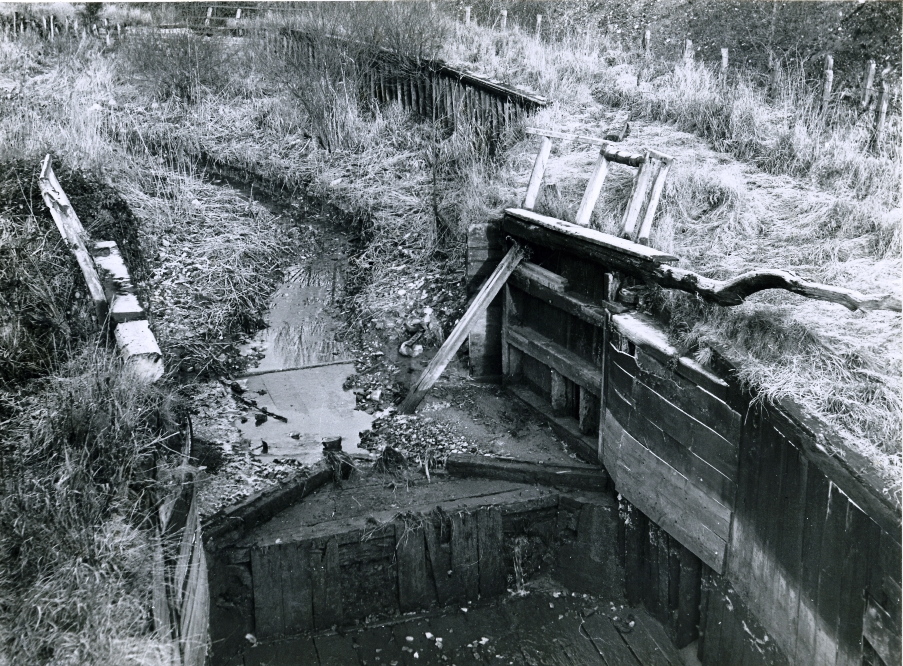 Stover canal lock in 1951