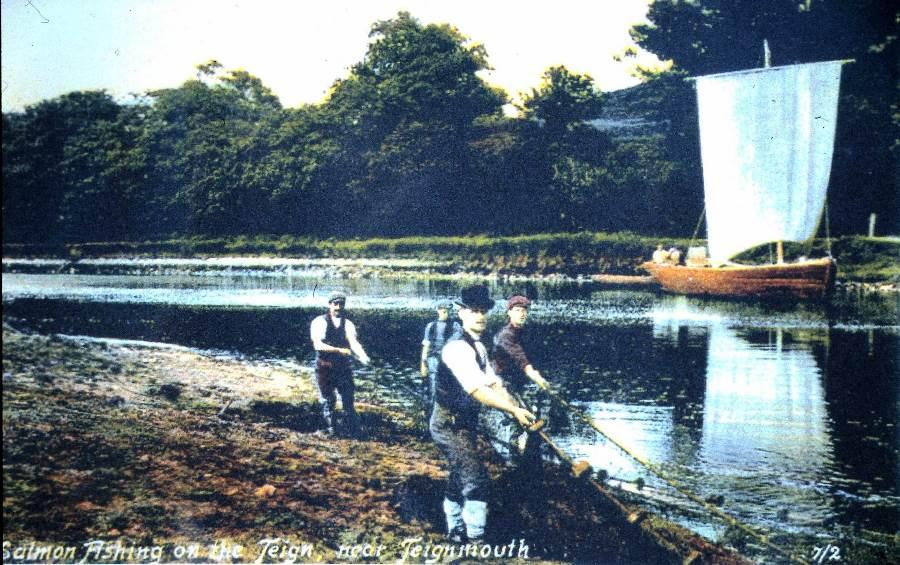 Ball Clay barge on the Teignm Estuary