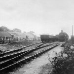 Teignbridge Sidings in 1901