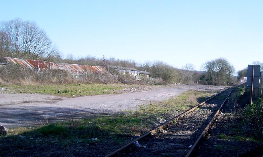 Teignbridge Sidings in 2005